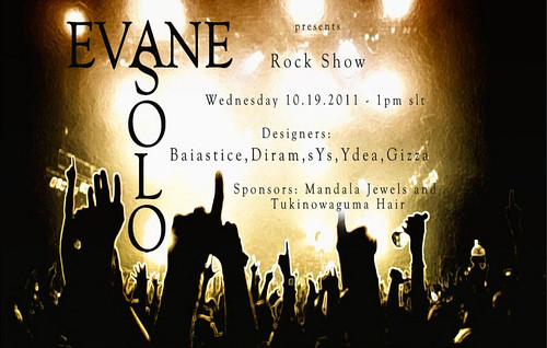 Rock Show by Solo Evane Model Agency by Ellendir Khandr