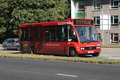 Regal Busways 209 YJ60KHA (Howard_Pulling) Tags: camera uk autumn england bus fall buses canon october transport harlow 209 essex regal 2011 harlowessex optare 400d optaresolo m780 regalbusways hpulling howardpulling regalbus m780se yj60kha