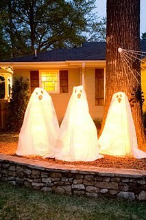 Glowing Ghosts