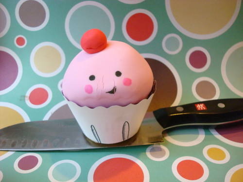 Naughty cupcake!