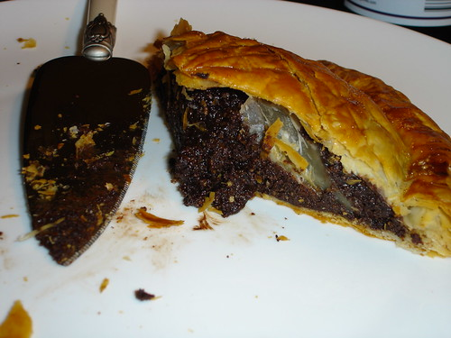 6263471660 fe0010c1f3 Chocolate and Hazelnut Pithivier