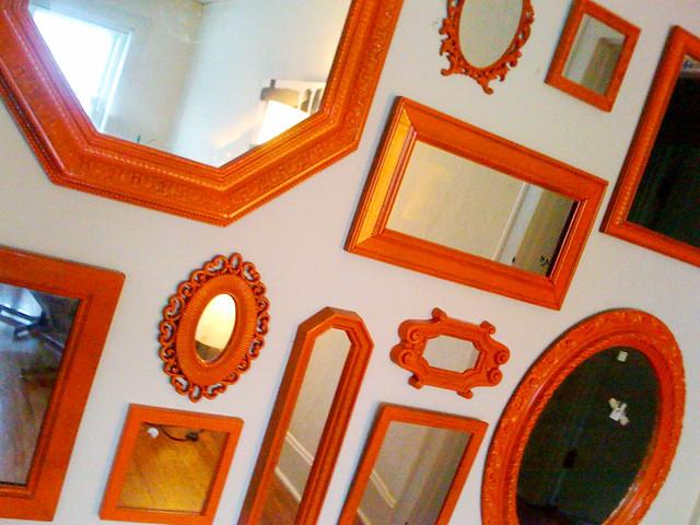 Orange Mirrors