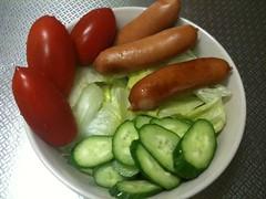 朝食サラダ(2011/10/21)