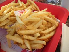Fries fries (kevincrumbs) Tags: food lasvegas fastfood frenchfries fries innoutburger innout