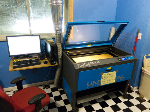 ULS Laser Cutter @ ATX Hackerspace