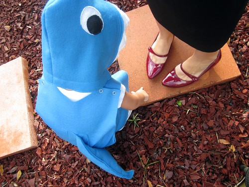 shark and shoes