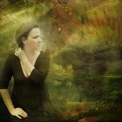 Delicious autumn! (Bessula) Tags: autumn woman texture creative deepavali innamoramento bessula redmatrix agorathefineartgallery musictomyeyeslevel1