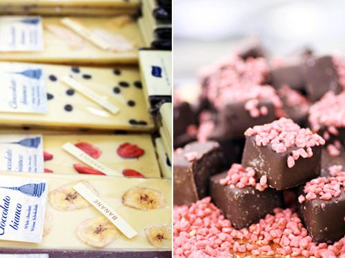 Cioccolato a colori