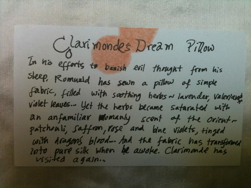 Clarimonde Notes