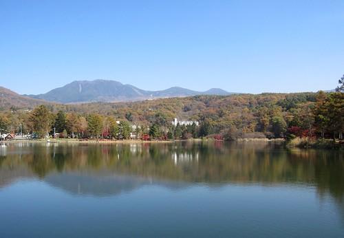 蓼科湖の紅葉と北八ヶ岳 2011年10月28日11:53 by Poran111
