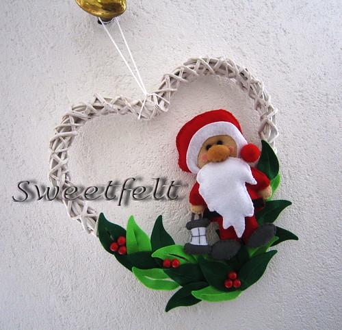 ♥♥♥  Ho, ho, ho.... by sweetfelt \ ideias em feltro