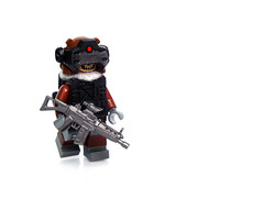 ([N]atsty) Tags: brown black cat lego plastic hazel ama minifig minifigure