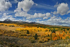 Autumn Spice (Darvin Atkeson) Tags: autumn sky panorama mountain snow mountains fall nature clouds skies fallcolor cloudy nevada scenic sierra snowcapped vision pines valley vista peaks aspen bridgeport sierranevada hwy395 395 mountainrange highway395 easternsierra darvin atkeson darv liquidmoonlightcom