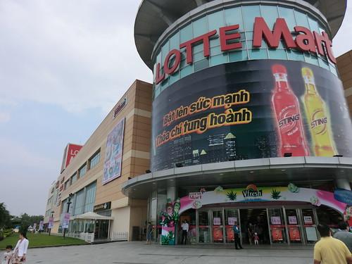 LOTTE Mart in Ho Chi Minh