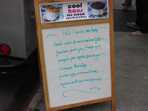 Coolhaus Fall Flavors