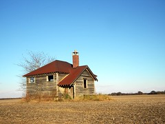 Lonely Building (JenDen2011) Tags: autumn rural buildings nikon indiana
