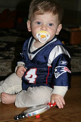 Ezra the Pats Fan, Eight months old