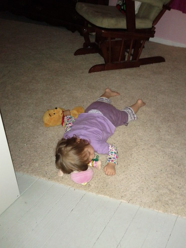Somebody Didn't Make it to the Bed for Naptime