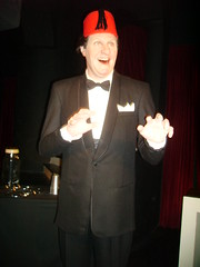 Tommy Cooper (richiiebam) Tags: red madame hat statue circle magic famous tommy lancashire fez cooper merlin figure comedian entertainer celeb blackpool tussauds magician waxwork