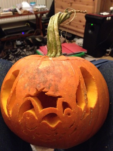 Stitch pumpkin