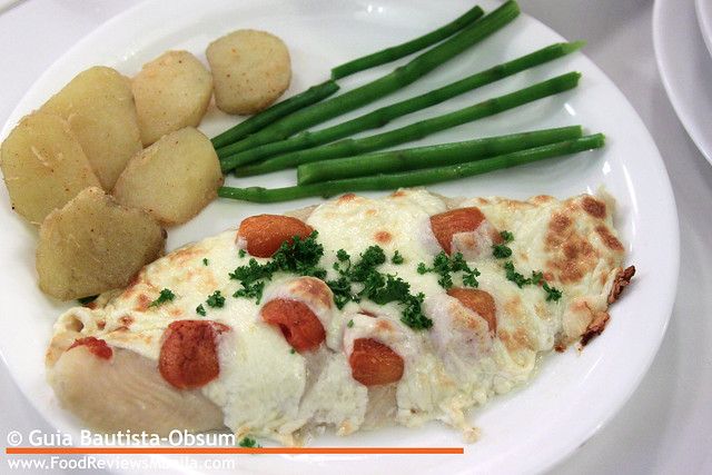 Secret Recipe Mozzarella Baked Fish 2