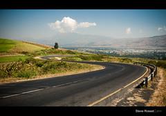 S-Bend (Steve Rosset) Tags: africa road travel blue sky june landscape geotagged tanzania driving bend vibrant smooth roadtrip s lush curve asphalt 2011 sbend steverosset geoafrica