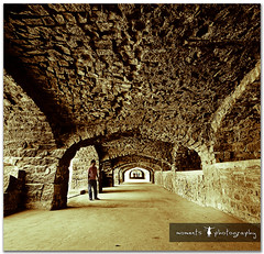 the fort which kept the kings safe.. (PNike (Prashanth Naik)) Tags: india man building architecture ancient nikon ruins asia fort stones arches structure historic kings archway hyderabad golconda d7000 pnike