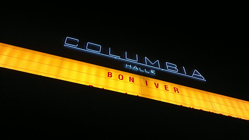 Bon Iver concert at Columbiahalle, Berlin