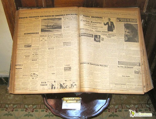 1932 Original Newspaper - Casa Particular - Havana Centro Cuba