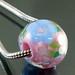 Charm bead : Pinky garden