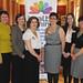 Julie Russell, Rae Browne, Irene, Knox, Frances Dowds, Susan Browne, Helen Kielt, Sarah Crowther