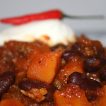 25 Chili con Kürbis / Chili con Pumpkin - CloseUp thumbnail