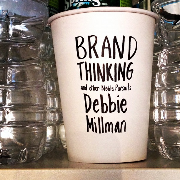 Brand Thinking Cup