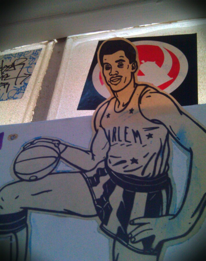The Fridge Bball sticker