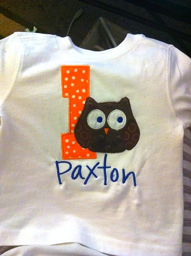 Paxton Birthday Shirt 2
