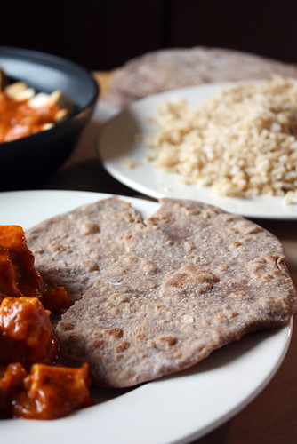 Indian dinner.
