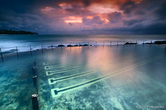 Ocean Baths (-yury-) Tags: ocean sea seascape storm nature water clouds sunrise landscape sydney australia baths nsw thepowerofnow poolbronte