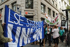 LSE Students' Union. (Stationary Nomads) Tags: nov november david sign youth demo fight student workers education nikon nick rally banner protest young 9 parliament demonstration cameron unite government leader conservative coalition cuts placard lse tory millbank conservatives fees defend liberaldemocrats libdem londonschoolofeconomics clegg whitepaper 2011 privatisation ucu d3000 londonschoolofeconomicsandpoliticalscience amenaamer