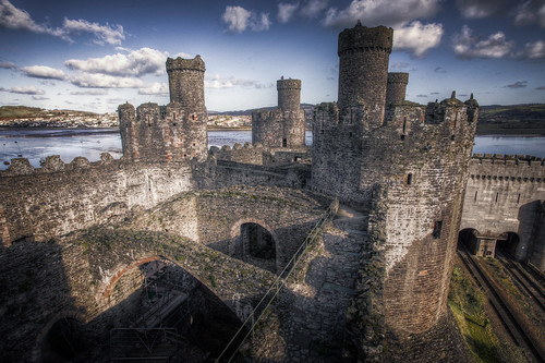 826/1000 - Conwy Castle by Mark Carline