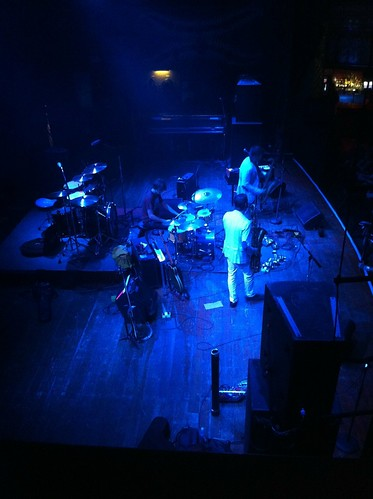 This is a photo of Moon Hooch making [capacity of House of Blues] new fans.