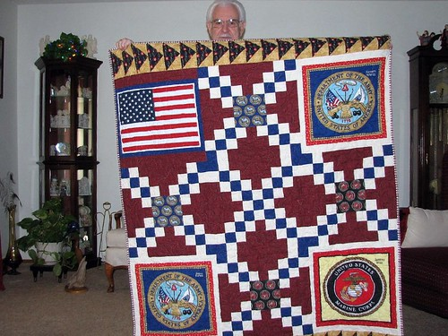 Galen's Quilt of Valor