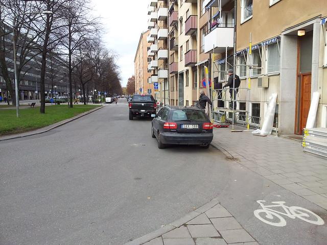 Bikelane @ Karlavägen