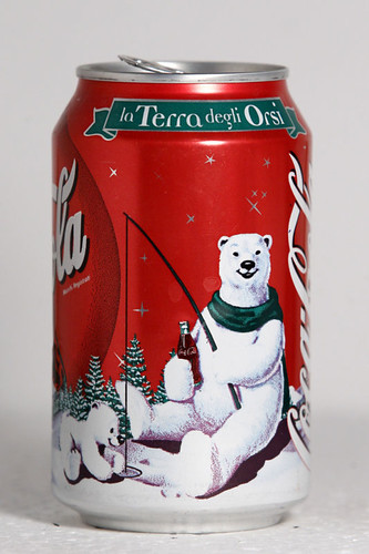 1999 Coca-Cola Italy Christmas Polar Bears 1 by roitberg