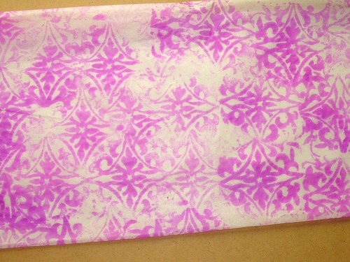 Quilted Tissue Paper