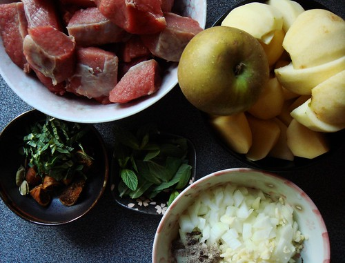 Braised Cardamom-Curry Veal: Ingredients