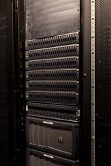 NetApp 8765 (PKMousie) Tags: california ca canon eos sunnyvale lab gray storage grill rack labs rackmount netapp 5dmarkii 5dii eastjavadrive