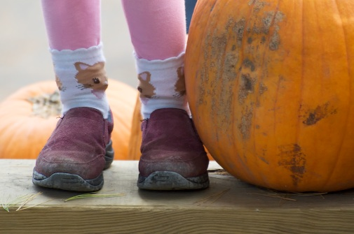 pumpkin feet
