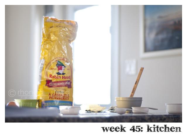 week 45: kitchen