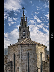 Campanario y bside sobre nubes (Rodion Quidam (OFF for a while, this is awful)) Tags: cloud church parish catholic cross bell 19thcentury iglesia belltower campana cruz pontevedra nube campanario parroquia catlico abse bside sxix placeres ringexcellence sanandrsdelourizn standrewoflourizn nosaseoradospraceres alejandrosesmeros