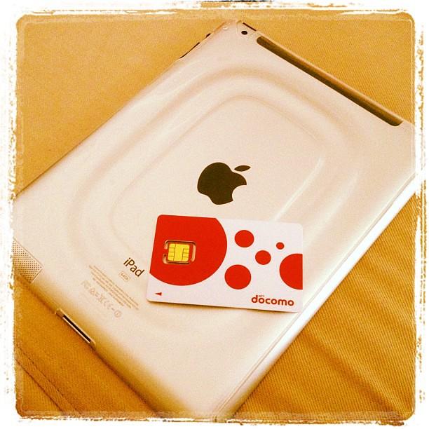 docomo SIM on iPad 2 